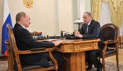 Премьер-министр РФ В.Путин встретился с президентом Дагестана М.Магомедовым