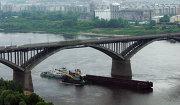 Молитовский мост через реку Оку
