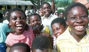 Школьники из Ганы