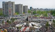 Виды Хабаровска. Привокзальная площадь
