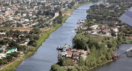 Виды Астрахани