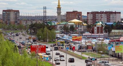 Виды города Сургут