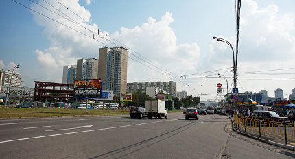 """Проспект Вернадского, метро """"Юго-Западная"""""""