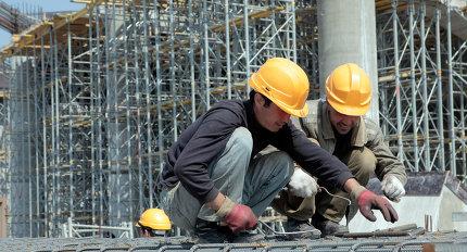 """Строительство нового футбольного стадиона """"Зенит"""" на Крестовском острове в Санкт-Петербурге"""
