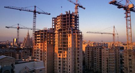 Строительство в центре Москвы