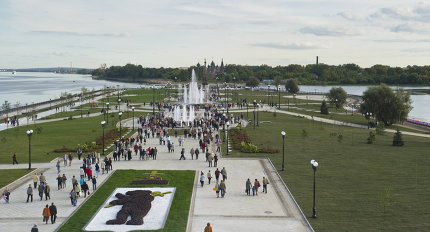 Виды города Ярославля