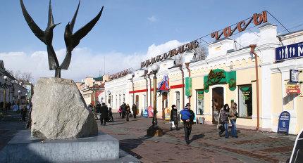 Виды Улан-Удэ, столицы Бурятии